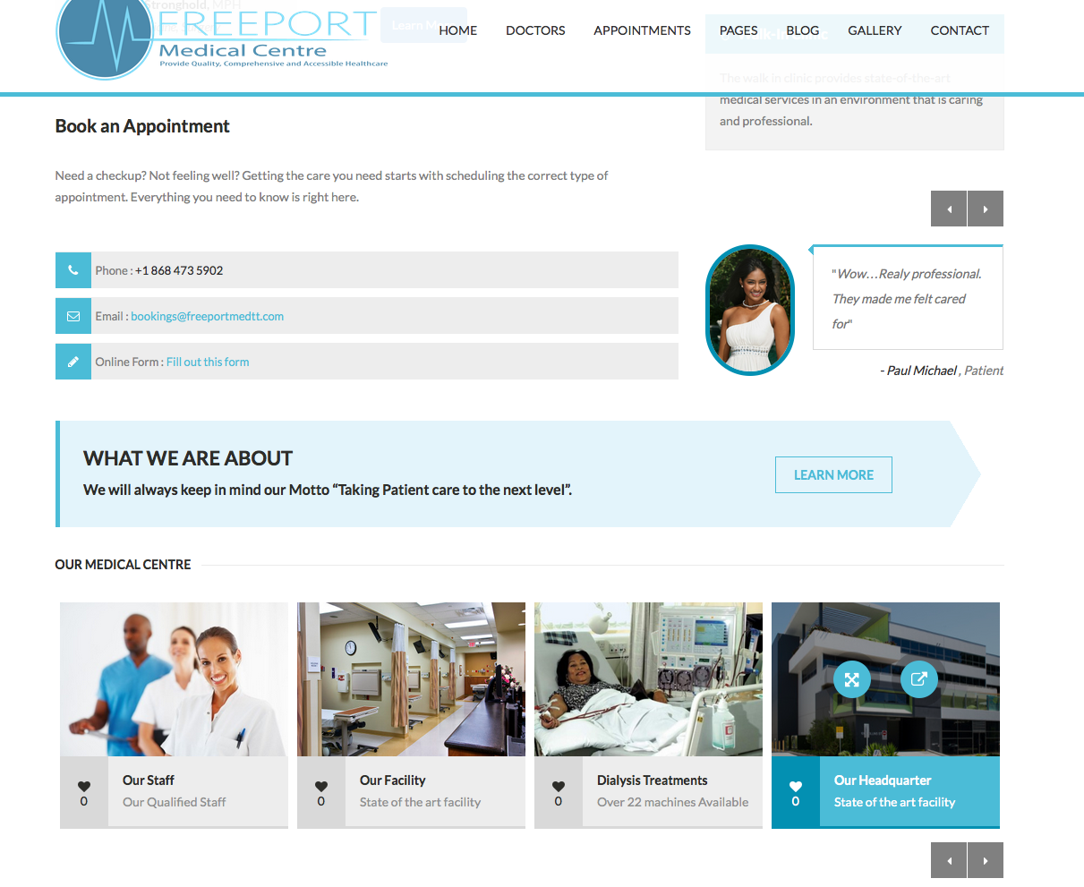 Launch of new websi...